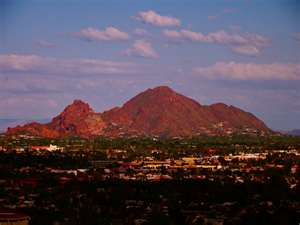 Camelback Mountain in Scottsdale, Arizona